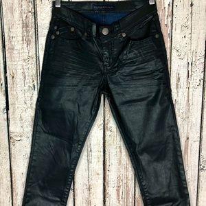 Rock & Republic Berlin R010131 Coated Black Jeans
